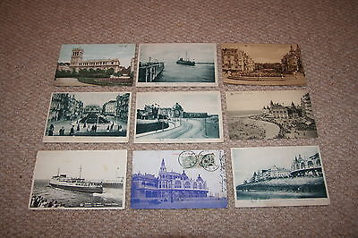 A collection of Ostende postcards from the 1900s.