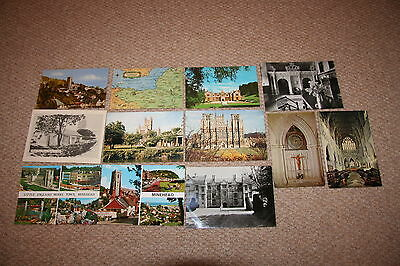 A collection of Somerset postcards from the 1900s.