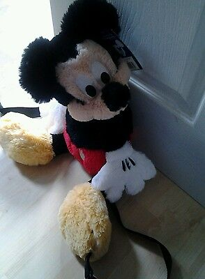 Disneyland Paris mickey mouse rucksack still in new condition with tag