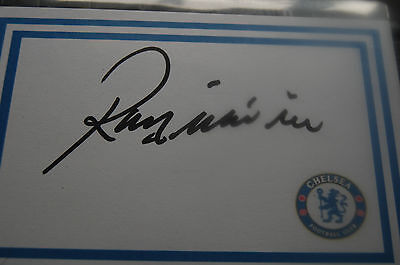 Chelsea Ray Wilkins Signed 6X4 White Card