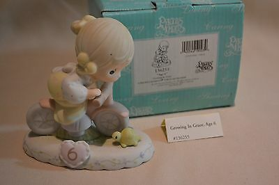 Nib 1994 Precious Moments Growing In Grace Series Age 6 136255
