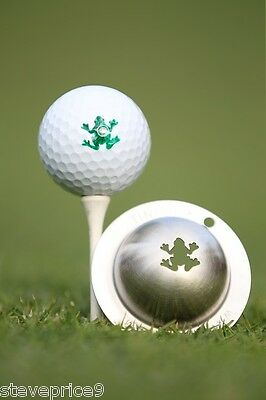 Tin Cup. Golf Ball Marker System. Rip It