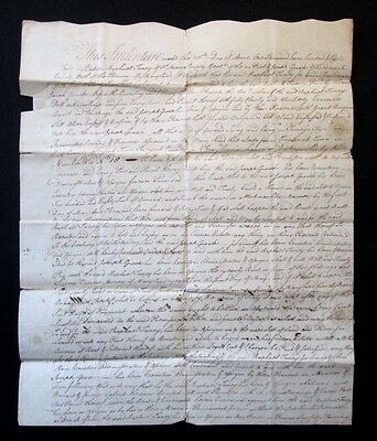 RARE 1764 TANEYTOWN MD MARYLAND Town Founder RAPHAEL TANEY Signed Land Document
