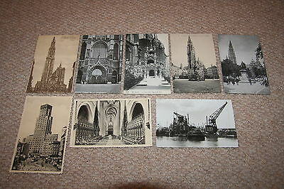 A collection of Antwerp postcards from the 1900s.