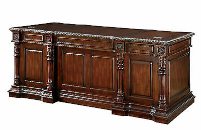 Furniture Of America Roosevelt Traditional Cherry Finish Office Executive Desk