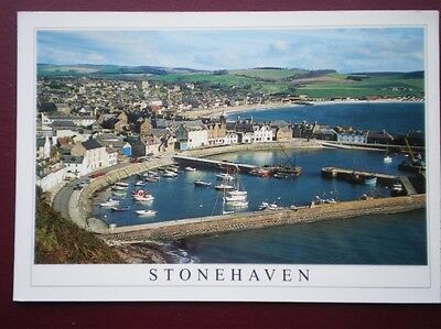 Postcard Kincardineshire Stonehaven From Bervie Braes