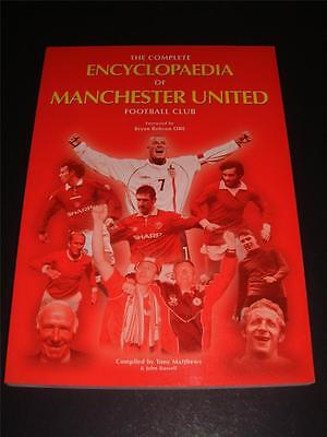 The Complete Encyclopedia Of Manchester United Fc Book Bryan Robson Hand Signed
