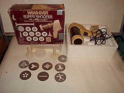 Vintage Wear-Ever Super Shooter Electric Cookie Canape Candy Maker