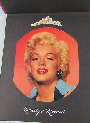 Marilyn Monroe Scrapbook Excellent Condition Very Well Done