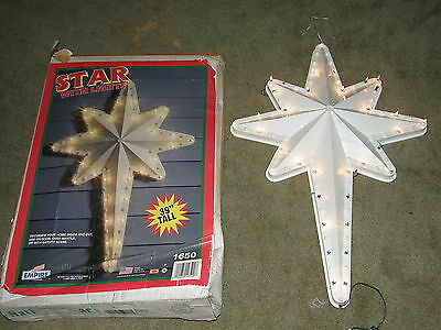 Vintage Empire Christmas Nativity Star with Light Blow Mold  Box