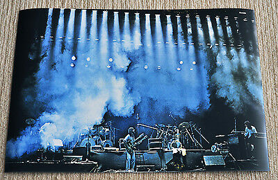 Genesis poster Seconds Out on stage 1977 Paris Olympia concert live poster Rare!