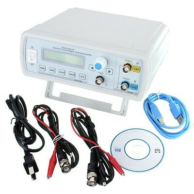 20Mhz DDS Dual-ch Function Arbitrary Waveform Signal Generator + sweep +Software