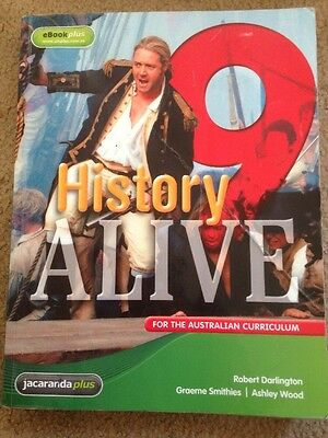 History Alive 9 for the Australian Curriculum and EBookPLUS by Graeme Smithies,…
