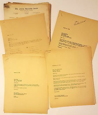 HUGE Otis Redding Collection! Nearly 1400 ORIG Documents, SIGNED CONTRACT + COA!