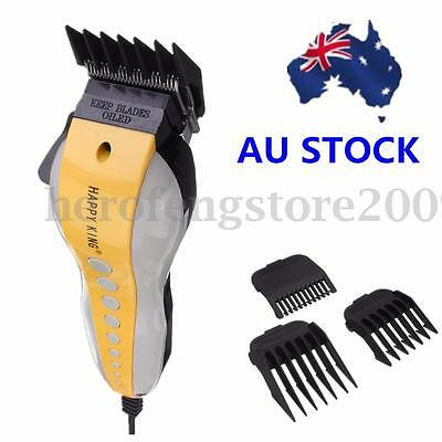 1 SET Electric Pro Complete Men's Kid Hair Cut Grooming Shaver Clipper Trimmer