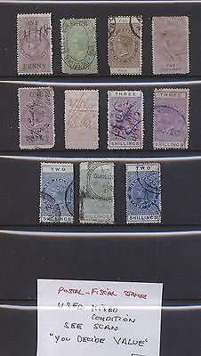 Postal Fiscals Used High CV