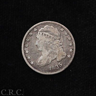 1835 Capped Bust Dime 10C Fine