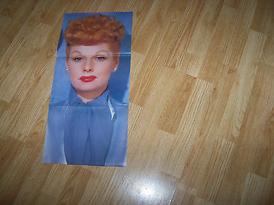 Lucille Ball & Elvis Presley  Poster  11 x 23