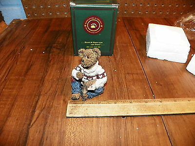 2000 BOYDS BEARS Oliver Wendell... Love Letters #227740 NIB