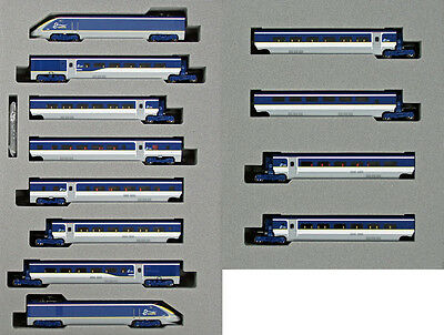 Kato 10-1297 10-1298 EUROSTAR New Color 12 Cars Set (N scale) **PRE ORDER**