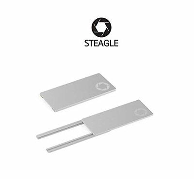 STEAGLE1.0 Laptop Webcam Cover for Privacy Shield Silver