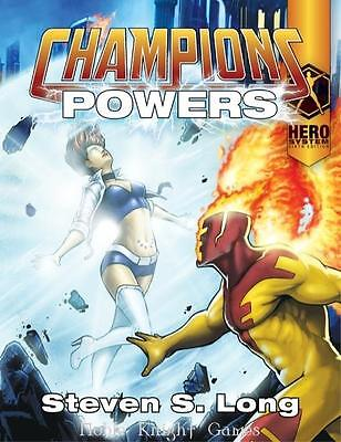 Hero Games Champions Champions Powers (6th Edition) SC MINT