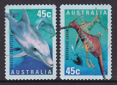 1998 Planet Ocean - Complete Set of Used Booklet Stamps