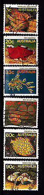 1985 Marine Life - Complete Set of Used Stamps