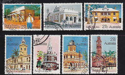 1982 Historic Post Offices - Complete Set of Used Stamps