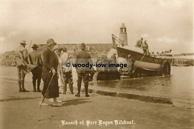 rp00384 - Launch of Port Logan Lifeboat - photo 6x4