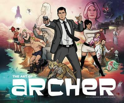 The Art of Archer by Sterling Archer Hardcover Book (English)