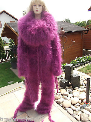 TRAUMMOHAIR C1l Longhair Mohair Catsuit Overall Sweater Cowlneck XXL NEU