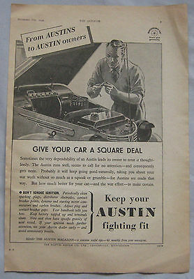 1942 Austin Original advert