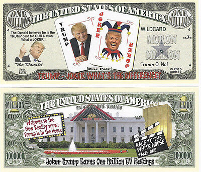 Dollar   Trump Welcome to the New Reality show