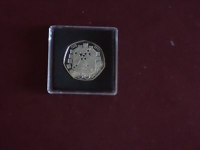 UK  ROYAL MINT 1992 -1993 50p PROOF Scarce  EEC Coin  Dual Date Fifty Pence  BU
