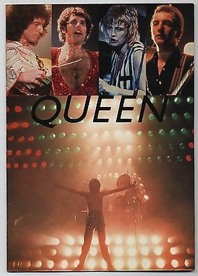 Queen - Japan Tour '79 JAPAN PROGRAM with FLYER April 13-May 6 1979