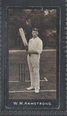 Smith - Cricketers (1-50) - #42 W W Armstrong