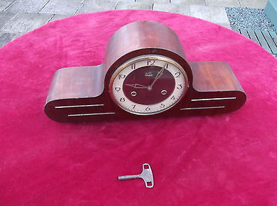 Art Deco Mantle Clock/antique Strike Clock/spares/repair/display/sonneberg Clock