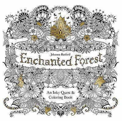 Enchanted Forest: una búsqueda de color y Libro Para Colorear by Johanna Basford