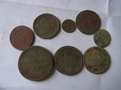 Many Russian Old Coins