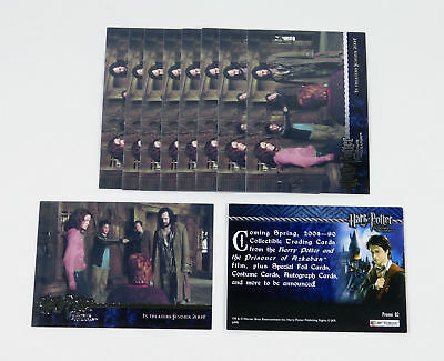 Lot of (10) 2004 Artbox Harry Potter And The Prisoner of Azkaban Promo Card (02)
