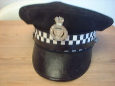 Essex And Southend On Sea Constabulary Flat Cap With Badge