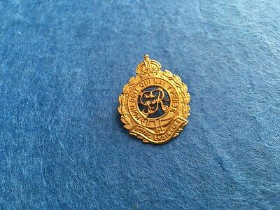 WW1 Gold Plate Royal Engineers Sweetheart Brooch