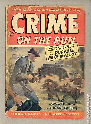 Crime on the Run (1954 Approved) #8 PR 0.5