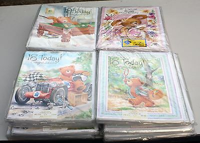Job Lot of approx 120  A4 sized Greetings Cards Birthday , Anniversary  Etc