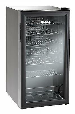 Bartscher 700082G - Refrigerated wine cellar for 24 bottles 88 liters 220V