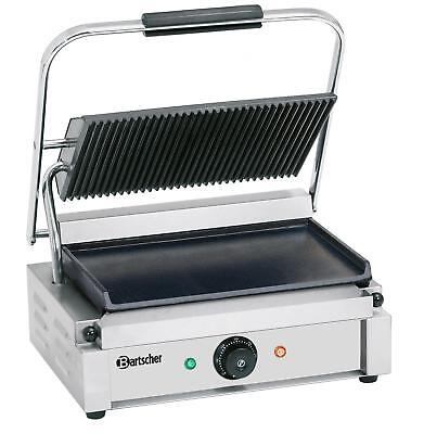Bartscher A150676 - Electric grill plate 41x37cm smooth / grooved 220V