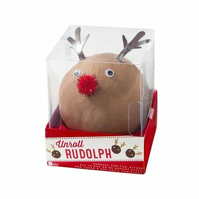 Christmas Entertainment Unroll Rudolph Party Game