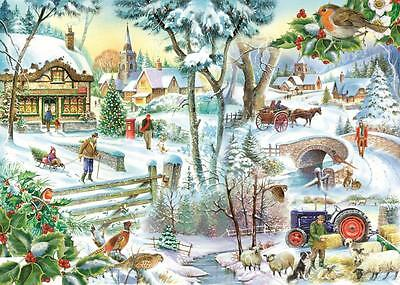The House Of Puzzles - 1000 PIECE JIGSAW PUZZLE - Winter Wonderland