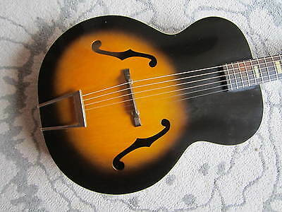 VINTAGE HARMONY ACOUSTIC ARCHTOP GUITAR / Harmony Master Acoustic Guitar/